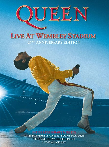 Queen at Wembley (1990) TVrip-Blu-ray-HDV-AAC-ZF