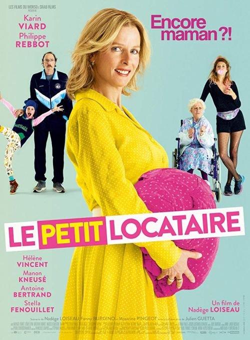 Babcia w ciąży / Le petit locataire (2016) PL.480p.BRRip.DD2.0.x264-P2P / Lektor PL