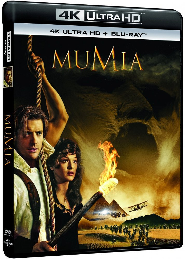 Mumia / The Mummy (1999) DUAL 2160p REMUX UHD BluRay HEVC
